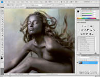 photoshop elements mujer remover fondo