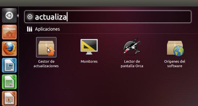 actualización de ubuntu