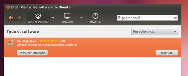 Cómo instalar Gnome Shell en Ubuntu 11.10